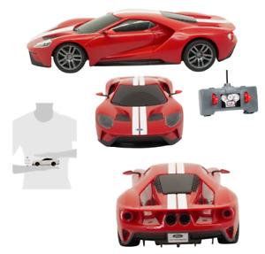 Maisto Tech R/C Red w White Stripe Ford GT 49 MHz 1.24 Street Series Level 2