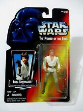 STAR WARS POTF Luke Skywalker Grapping-Hook Blaster & Lightsaber Kenner 1995 MOC