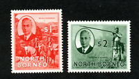 North Borneo - SG# 367 & 368 MH ((rem)     -     Lot 1020181