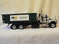 FIRST GEAR 1-34 19-3441A MACK ROLL TRUCK ROLL OFF CONTAINER WASTE MANAGEMENT