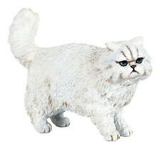 Papo 54042 White Persian Cat Animal Figurine Toy Model 2017 - NIP
