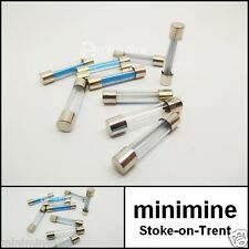 Classic Car 25AMP Glass Fuse Set of 10 Mini MG Jaguar FREE 1ST CLASS POSTAGE!