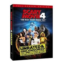 Scary Movie 4 (DVD, 2006, Unrated, FS) - New