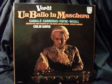 G. Verdi - Un Ballo in Maschera / Davis    3 LP-Box