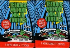 Teenage Mutant Ninja Turtles Movie Cards & Stickers, New