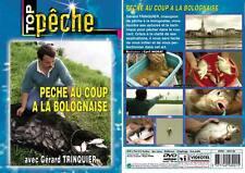 DVD Pêche au coup à la bolognaise Gérard Trinquier - Pêche au coup - Top Pêche