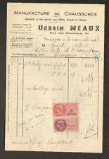 """TOULOUSE (31) USINE de CHAUSSURES """"Urbain MEAUX"""" en 1948"""