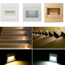 5-10X LED Staircase Step Walkway Recessed Night Lighting Spot Light Stair Lamp