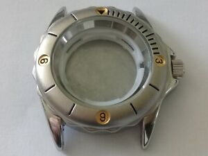 Gents Diver Style Watch Case. Screw Back, Crystal 3mm- Crown & Seal. New (JC031)