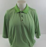 Pebble Beach Men's XL Green Polo Shirt