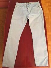 7/8Skinny Hose Jeans von ZARA Woman used Lookhell-himmelblau Gr. 42 neuwertig