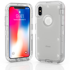 For Apple iPhone X / XS / XR Max 10S Case Protective Defender Shockproof Cover