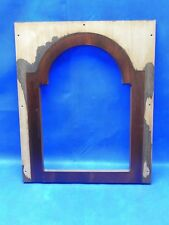 Vintage PEARL Grandfather Clock Face Wooden Mounting Panel
