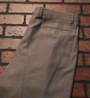 Zanella Men's Pleated Cuffed Dress Pants Size 36 x 33