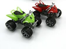 2 Pcs Racer and Jeep Racer Cars Trucks Kid Diecast Toys Machines - Strong Wheels