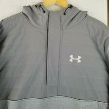 NWT UNDER ARMOUR $125 3XL Mens UA Storm 1 Heavy Hoodie Jacket Coat Gray NEW XXXL