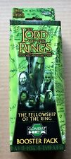 Lord of the Rings Combat Hex Fellowship Booster Packs (2004) Sabretooth Games