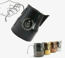 Barista Coffee Milk Frothing Jug Pitcher Crafts Stainless Steels Large Milk Jugs