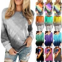 Tie Dye T Shirt Top Tee Tye Die Women Festival Hipster Indie Retro Ladies Tshirt