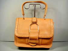 Jimmy Choo Lousie Tan Camel Grainy Leather Handbag Shoulder Bag Purse New $2175