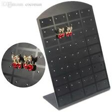 36 Pair Jewelry Holder Organizer Earrings Display Stand Storage Black Ear Ring