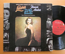 David Raskin Conducts Laura Forever Amber The Bad & The Beautiful RCA ARL1-1490
