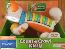 NEW LEAP FROG COUNT AND CRAWL KITTY ~ EDUCATIONAL TOY ~ NUMBERS AND MUSIC