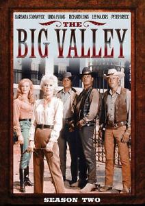 The Big Valley: Season 2 - DVD - Free Shipping. - New