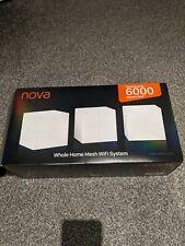 Tenda Nova Mw3 Home Mesh WiFi System 3 Pieces