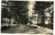 Pleasantville NY - VIEW DOWN BEDFORD ROAD - Postcard