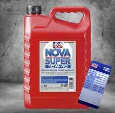 LIQUI MOLY Nova Motoröl für Benzin und Diesel 10W40 5l 7351 mit Ölzettel