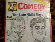 COMEDY MAGAZINE 1st issue collectors edition Dec 1993 NIB humor satire English