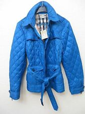 NEW  BURBERRY BRIT Women Puffer Bright Turquoiseize XL MSRP $ 650.00