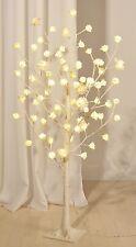 XL LED  Lichterbaum Lichterbäumchen  Rosenbaum Baum Bäumchen Rosen Blüten 1,25m