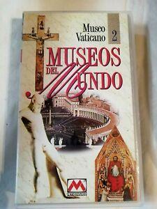 Museo Vaticano 2 Museos del Mundo Cinta VHS Metrovideo Pal Usado