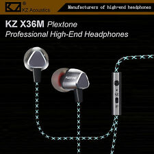 KZ X36M Plextone Pro High-End In-Ear Kopfhörer/Headset OhrhörerHammerbass Silber