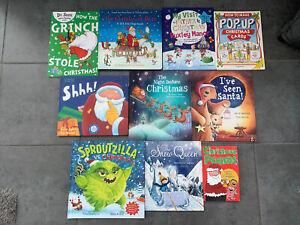Bundle 11 Christmas Hardback Board book Childrens Toddler Books Lift Flap Puppet