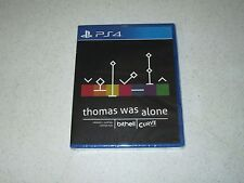 Thomas Was Alone Sony PlayStation 4 Limited Run #22 FREE SHIPPING