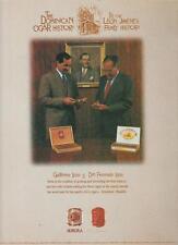 La Aurora Cigar PRINT AD 1997 Leon Jimenes Family Dominican Republic Rare