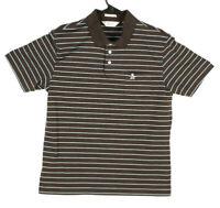 Penguin Polo Shirt Short Sleeve Pima Cotton Size L Mens (240)