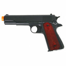 HFC Colt 1911 Replica Green Gas Airsoft Pistol Non Blowback Black HG-121B