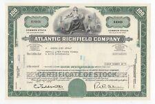 Atlantic Richfield Company Stock Certificate