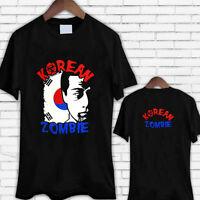 The Korean Zombie - Chan Sung Jung Men's Black Tee Shirt TShirt