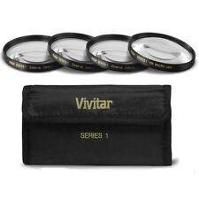 Vivitar 62mm 4pc HD Macro Close-UP Lens Filter Set +1 +2 +4 +10