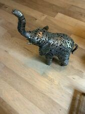 Unique Large Metal Floor Elephant Indoor/Outdoor Statue With Free Shipping
