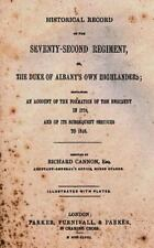 Historical Record of the Seventy-Second Regiment : Or, the Duke of Albany's...