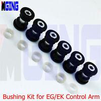 POLYURETHANE BUSHINGS KIT FOR LOWER CONTROL ARM SUBFRAME 88-00 CIVIC EK EG 6
