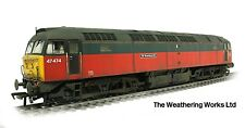 Boxed Bachmann BR RES Express Parcels Class 47 474 *WEATHERED LOOK* 31-652