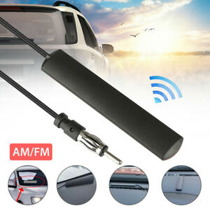 Car Radio Stereo Hidden Antenna Stealth FM/AM  For Truck Vehicle Motorcycle Boat