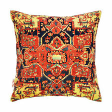 """Persian Rug Inspired Multi Blue Red Cushion Cover 43x43cm -16""""x16""""-50%OFF..."""